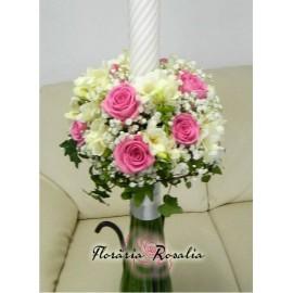 Lumanari roz