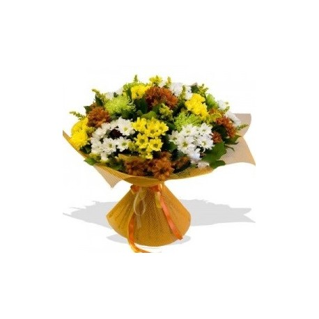 Buchet 17 crizanteme
