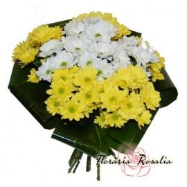 Buchet 9 crizanteme