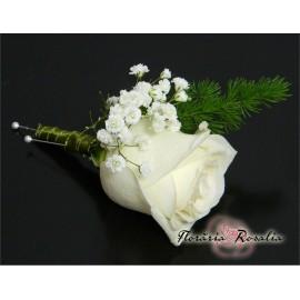 Cocarda cu trandafir