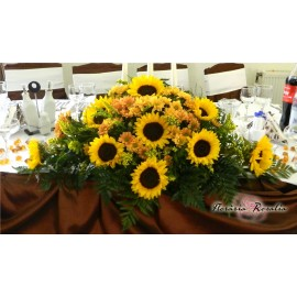 Aranjament cu floarea soarelui