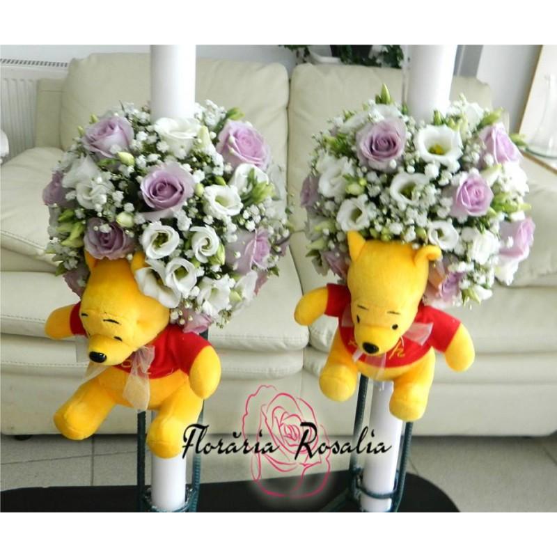Lumanare Cu Jucarie Winnie The Pooh