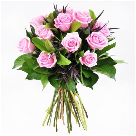 Buchet rotund roz