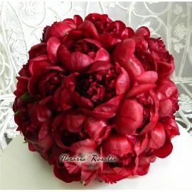 Buchet 19 trandafiri rosii