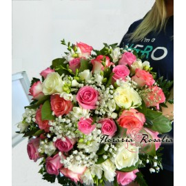 Buchet romantic