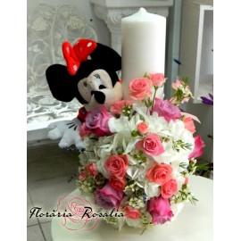 Lumanare Minnie Mouse