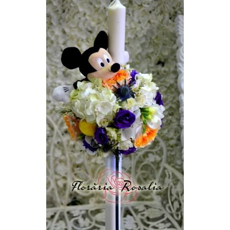 Lumanare sfera Mickey