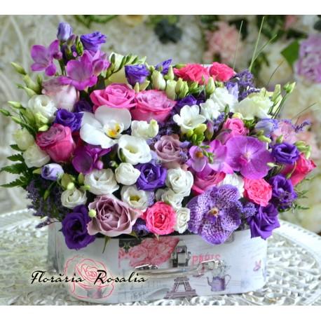 Cufar plin cu flori