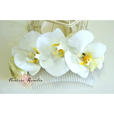 Accesoriu par cu orhidee