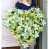 Inima cu 36 orhidee
