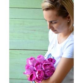 Buchet 9 trandafiri parfumati Charlene